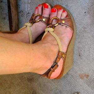 Miu Miu size 38 made in Italy wedges